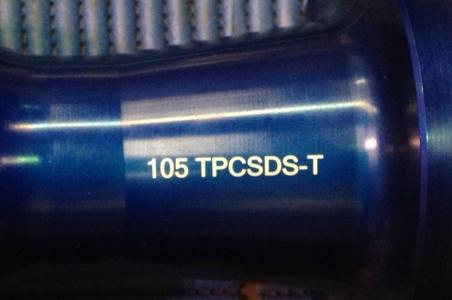 Marcaje de piezas de acero anonizado con láser de marcado Datamark