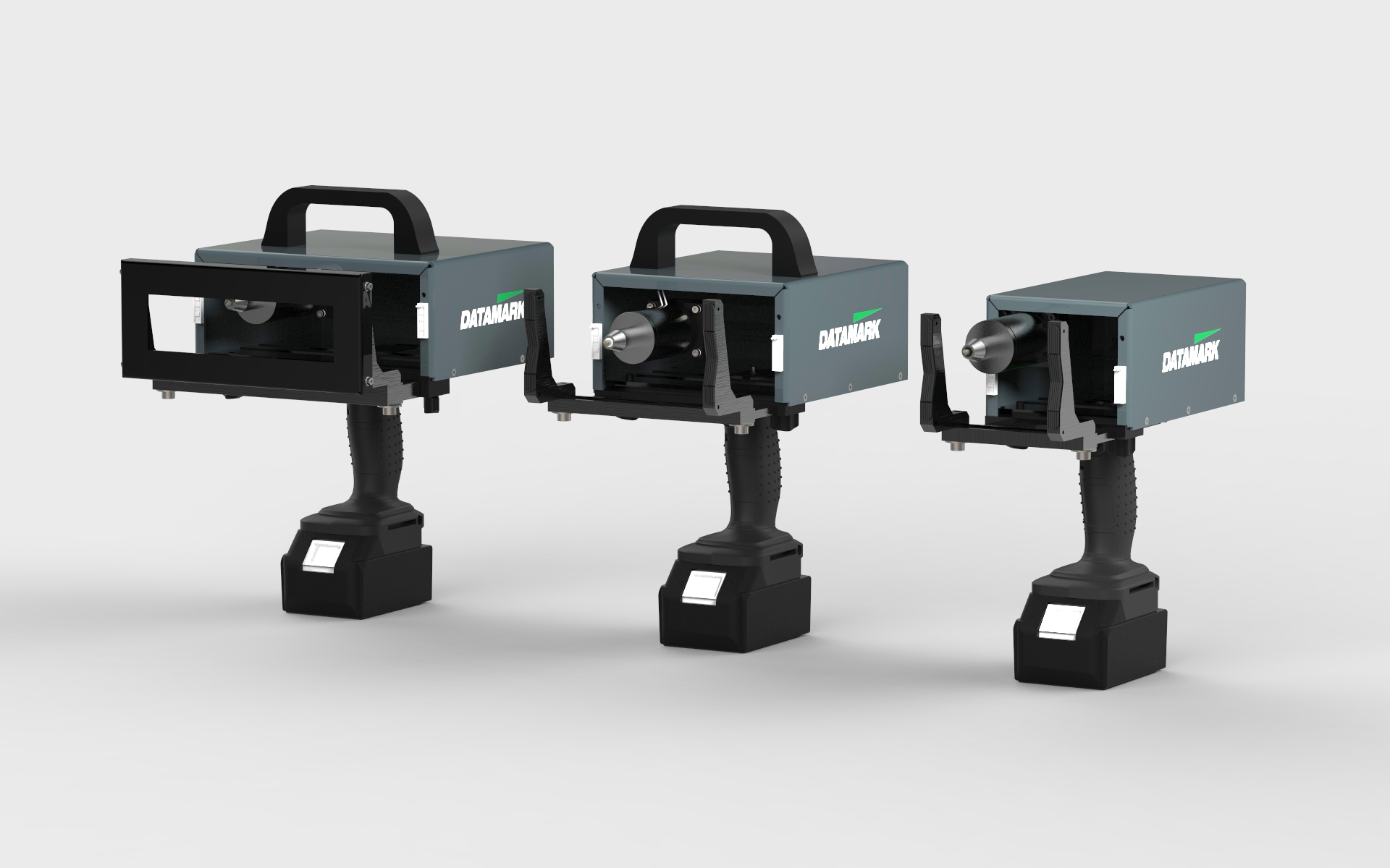 Máquinas de marcado por puntos y micropercusión portátiles Datamark