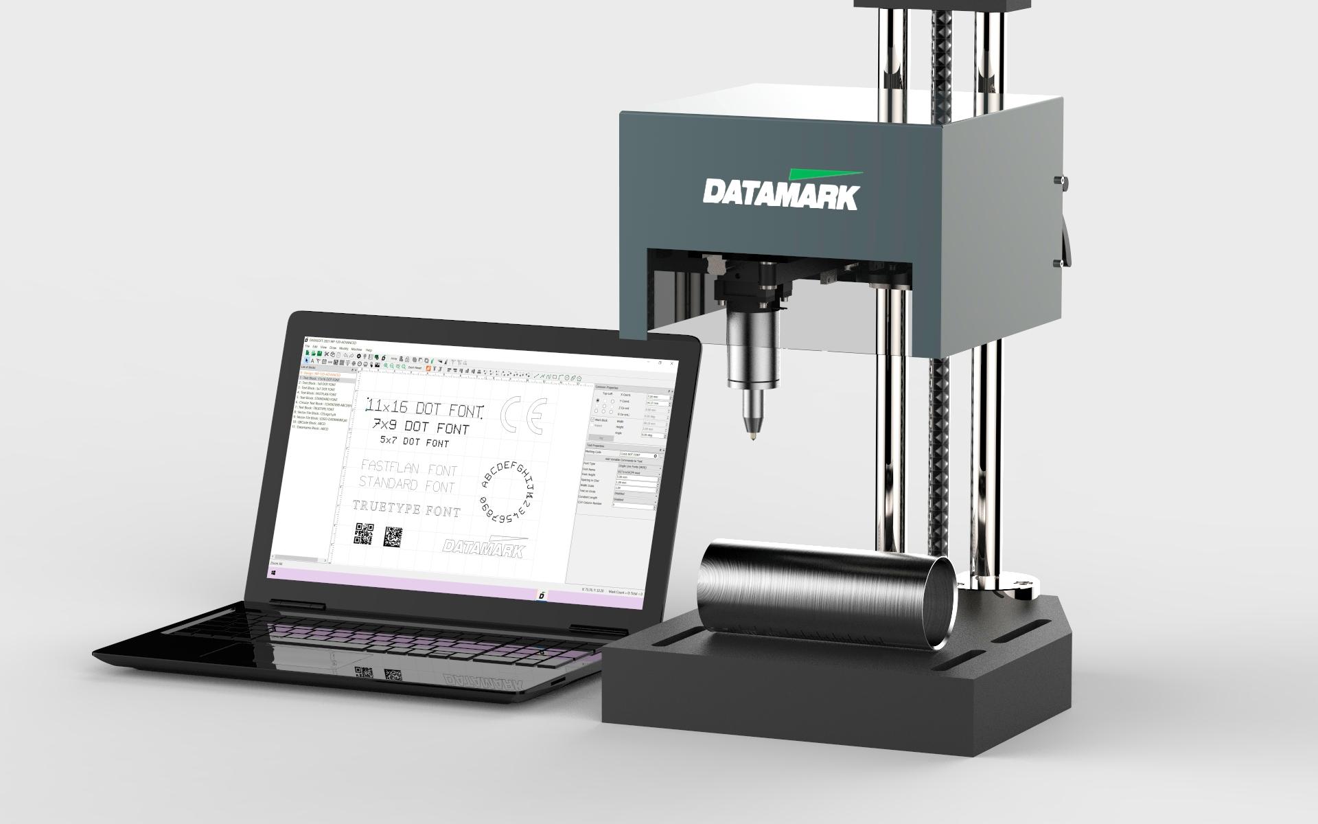 Máquinas de marcaje y grabado de piezas Datamark