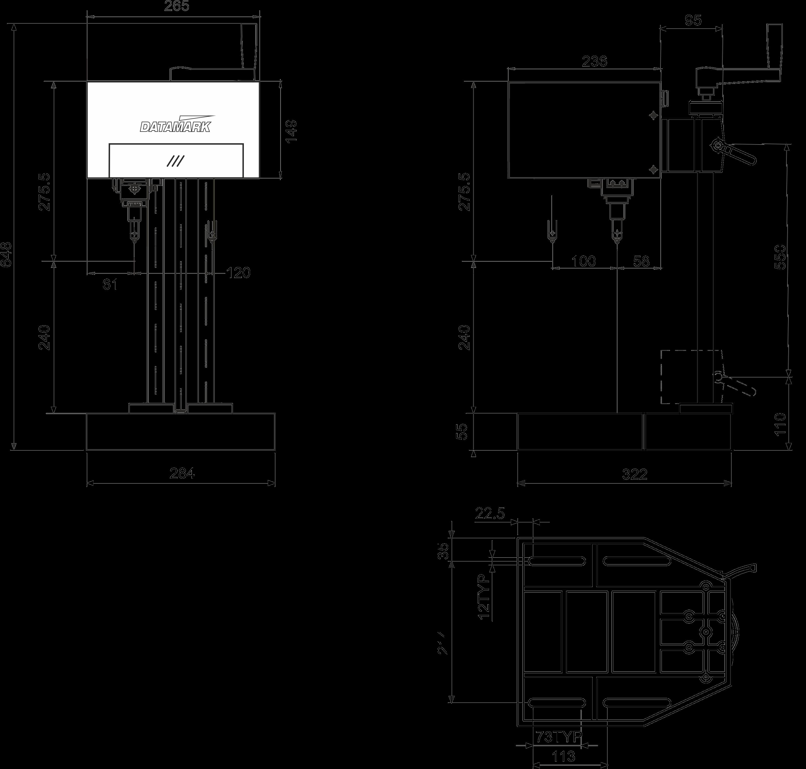 Marcadora Datamark MP-120