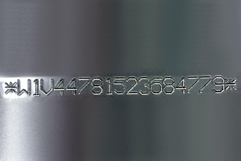Marcaje de metal por micropercusión