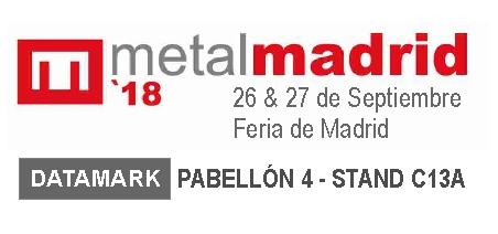 Datamark en la Feria MetalMadrid 2018