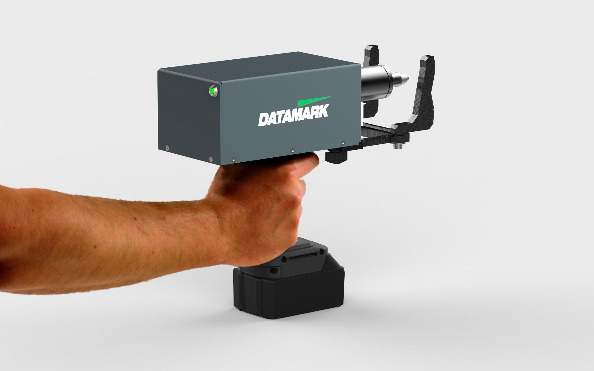 Marcadora portátil grabado en metales por micropercusión Datamark MP-50
