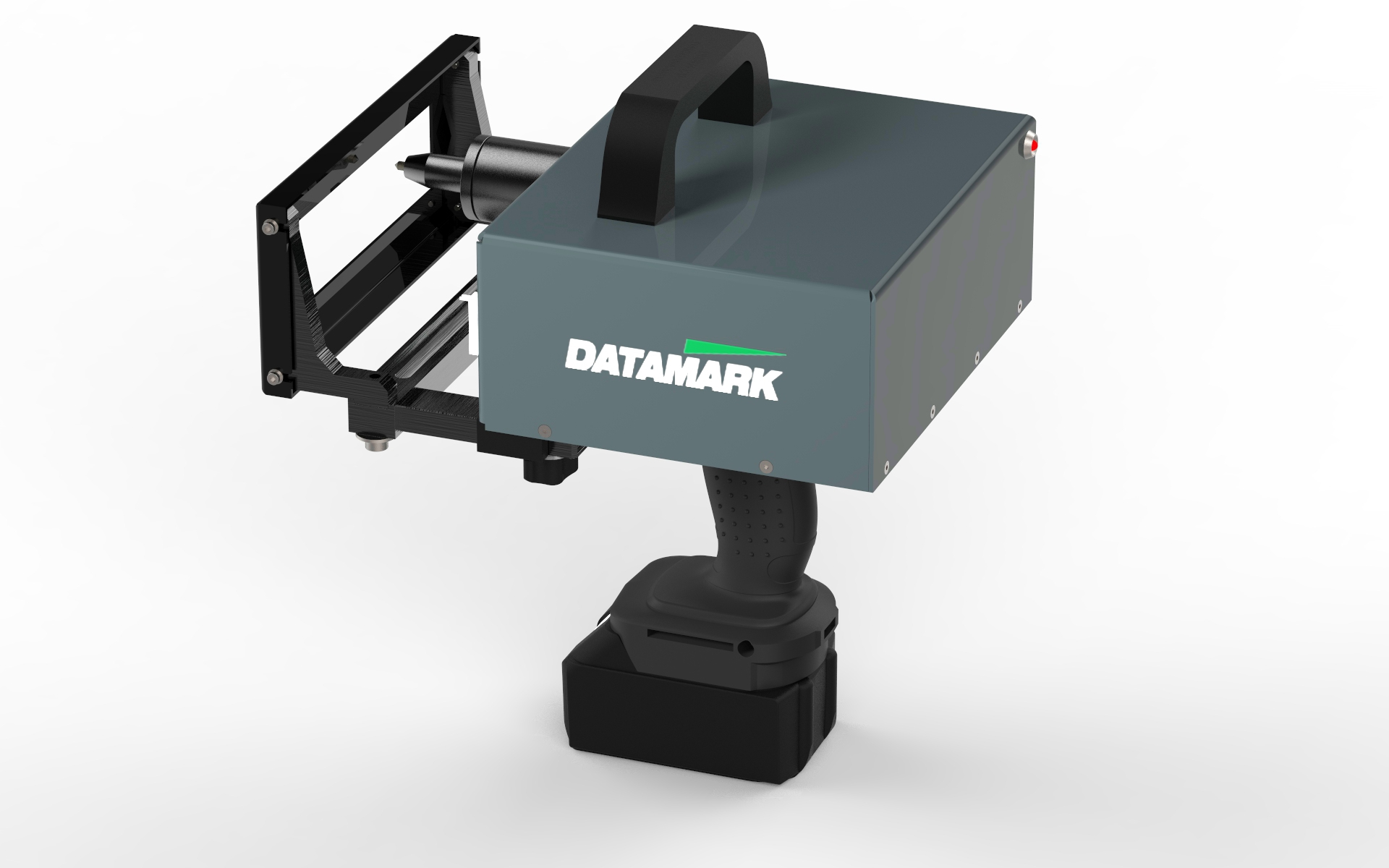 Máquina para marcar bastidores con números de identificación