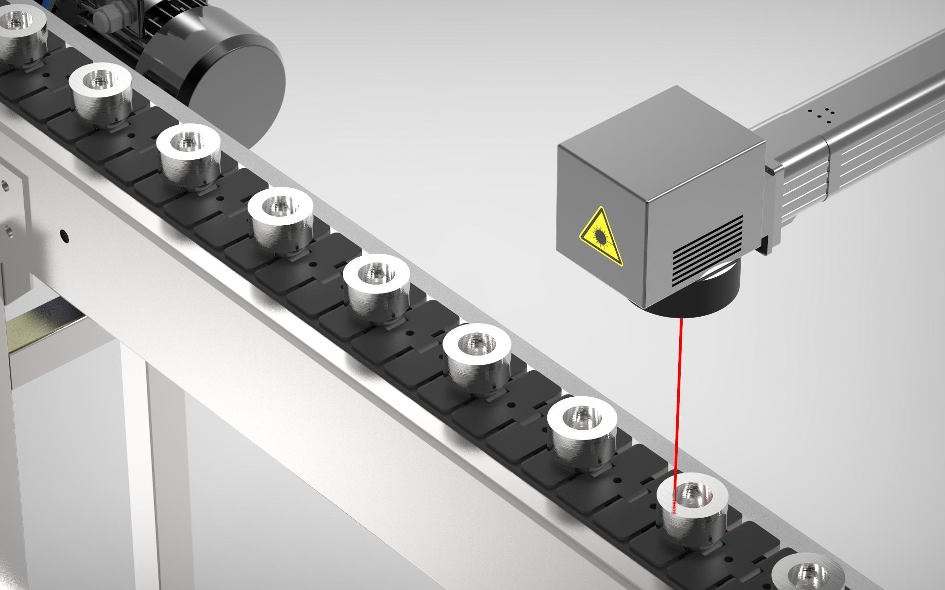 Láser de marcaje industrial Datamark