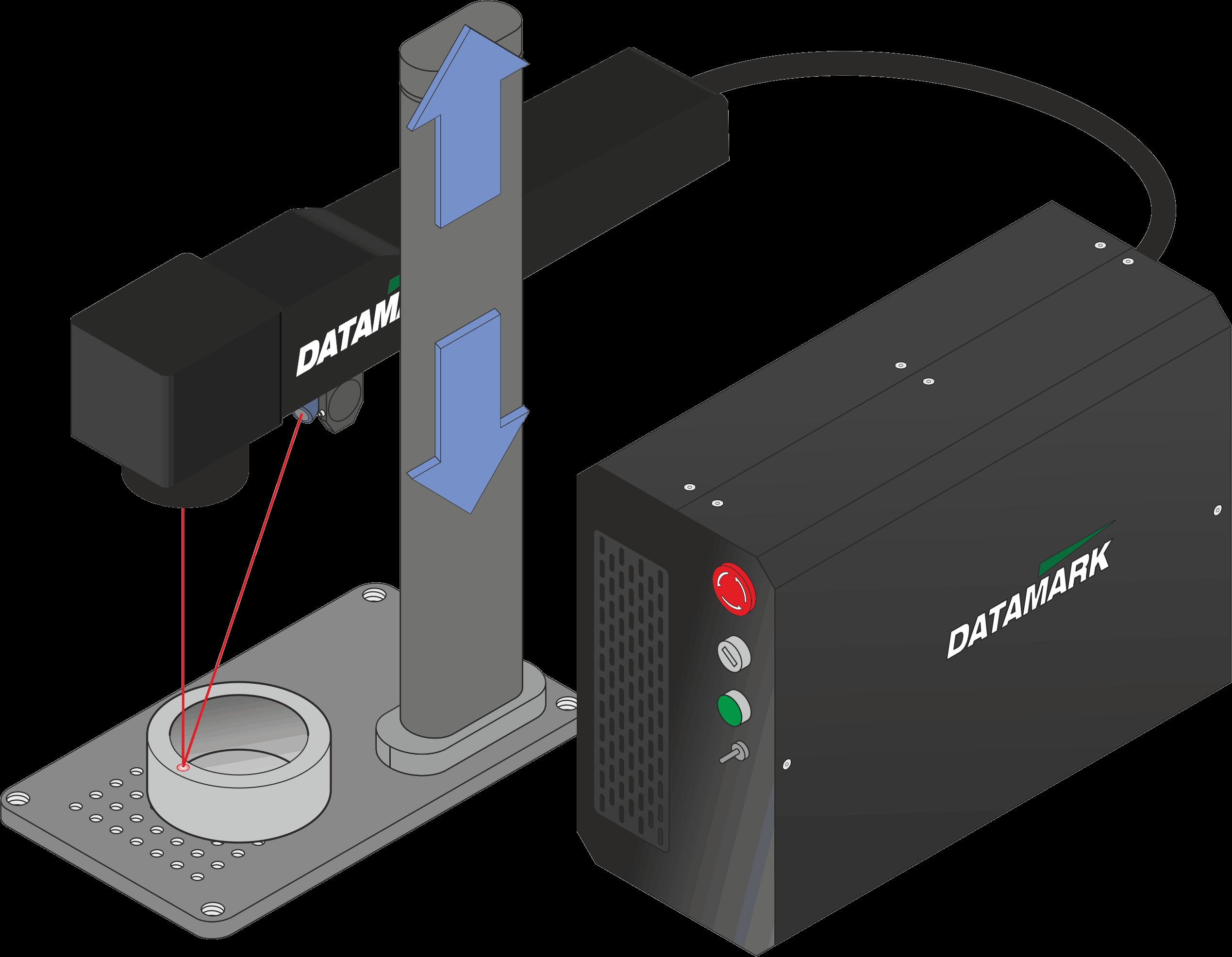 Máquina de grabado láser Datamark ML-200