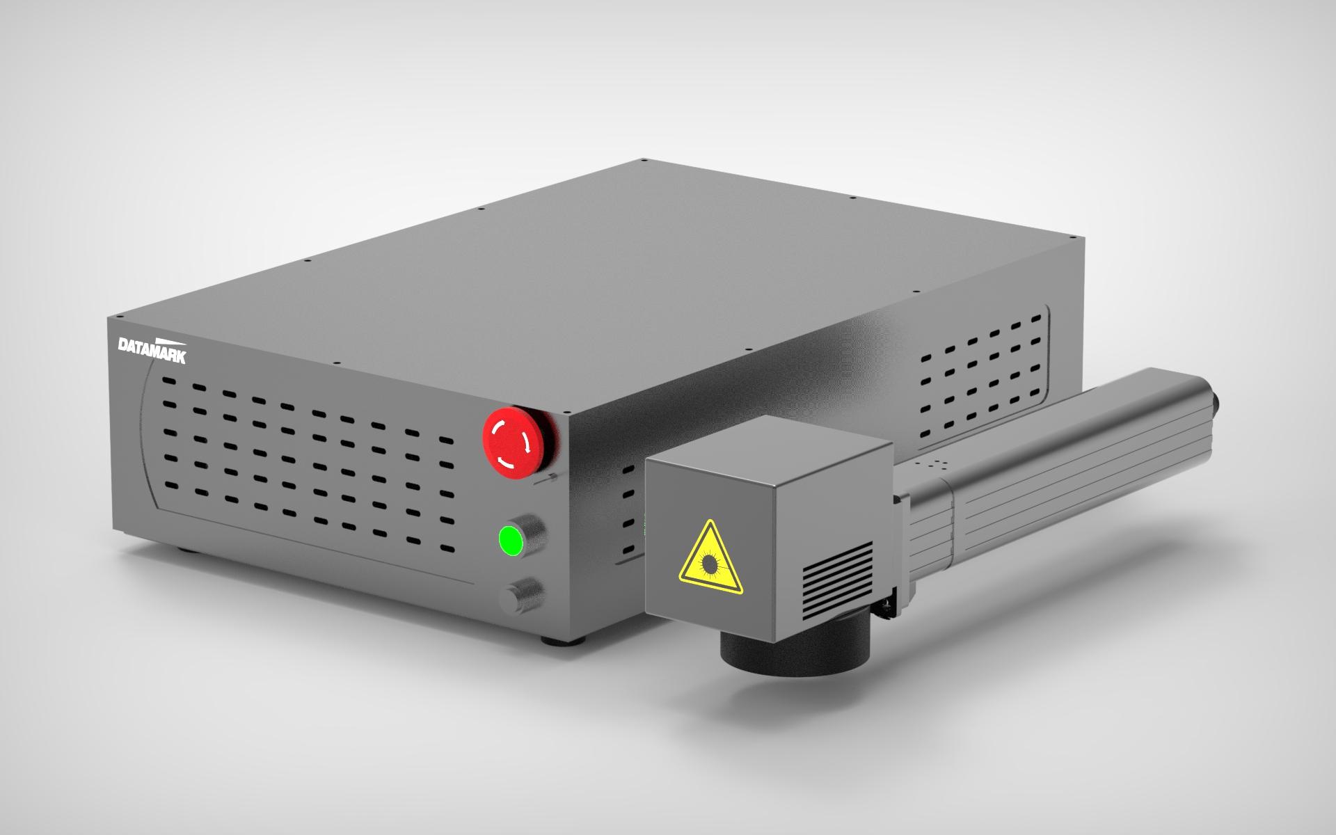 Marcadora laser de fibra para marcaje industrial