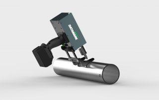 Marcadora portatil de tubos de acero