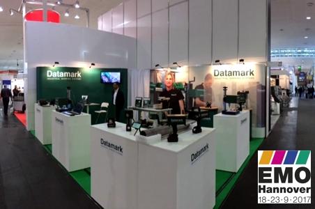 Datamark en la feria EMO de Hannnover 2017
