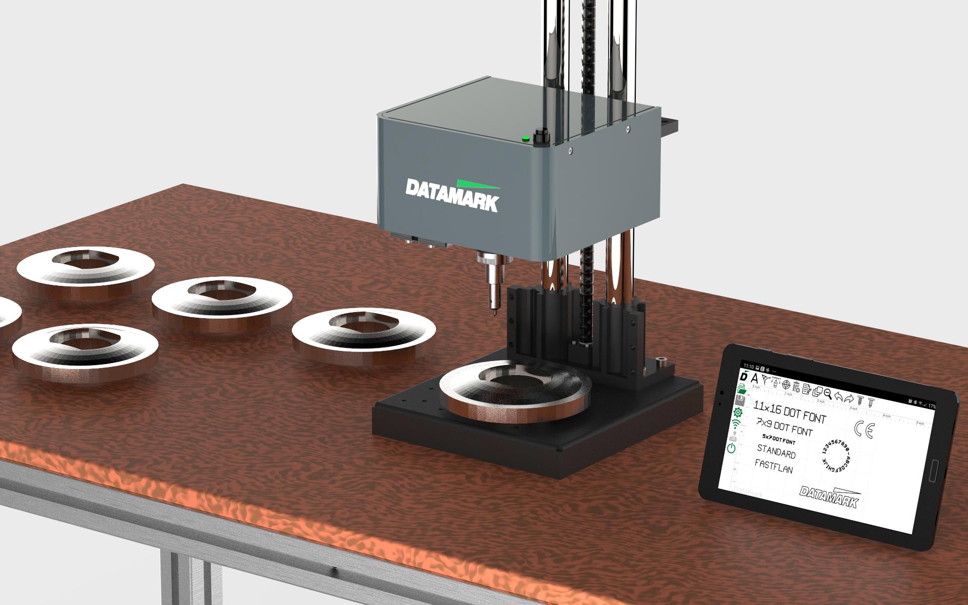 Marcadora de micropunzonado Datamark Easymarker