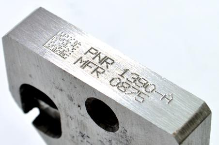 Marcaje de piezas de metal