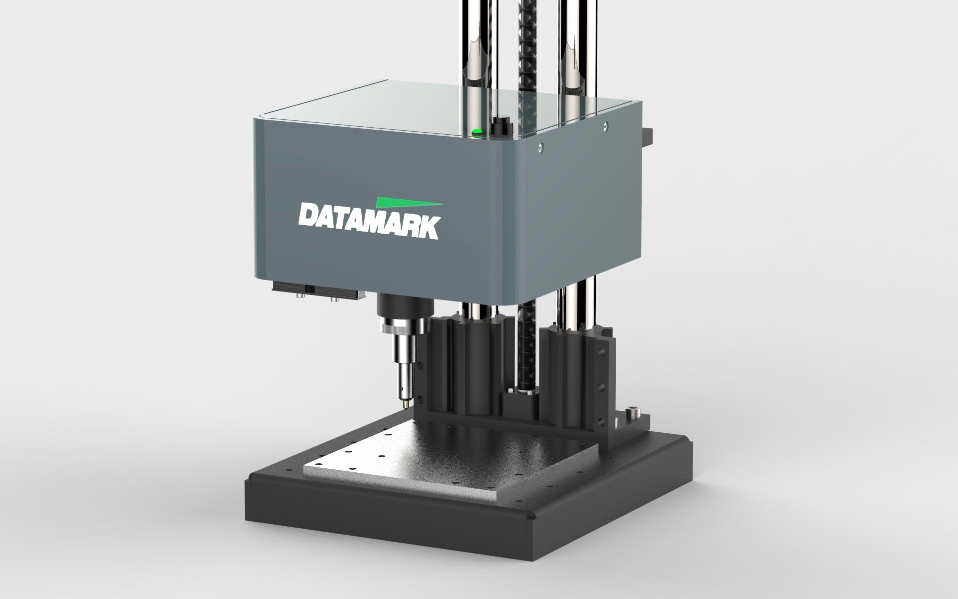 Sistema de marcaje en columna de sobremesa por micropunción Datamark Easymarker