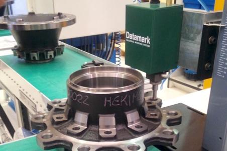 Automatización del marcaje por micropercusión