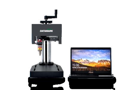 Máquina para grabado de piezas y marcado de placas de metal Datamark