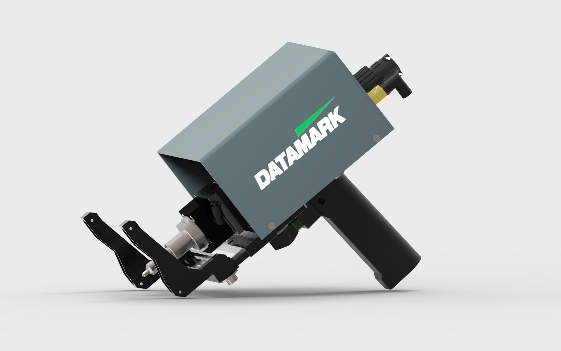 Máquina d emarcaje industrial por puntos Datamark Mp-80 neumática