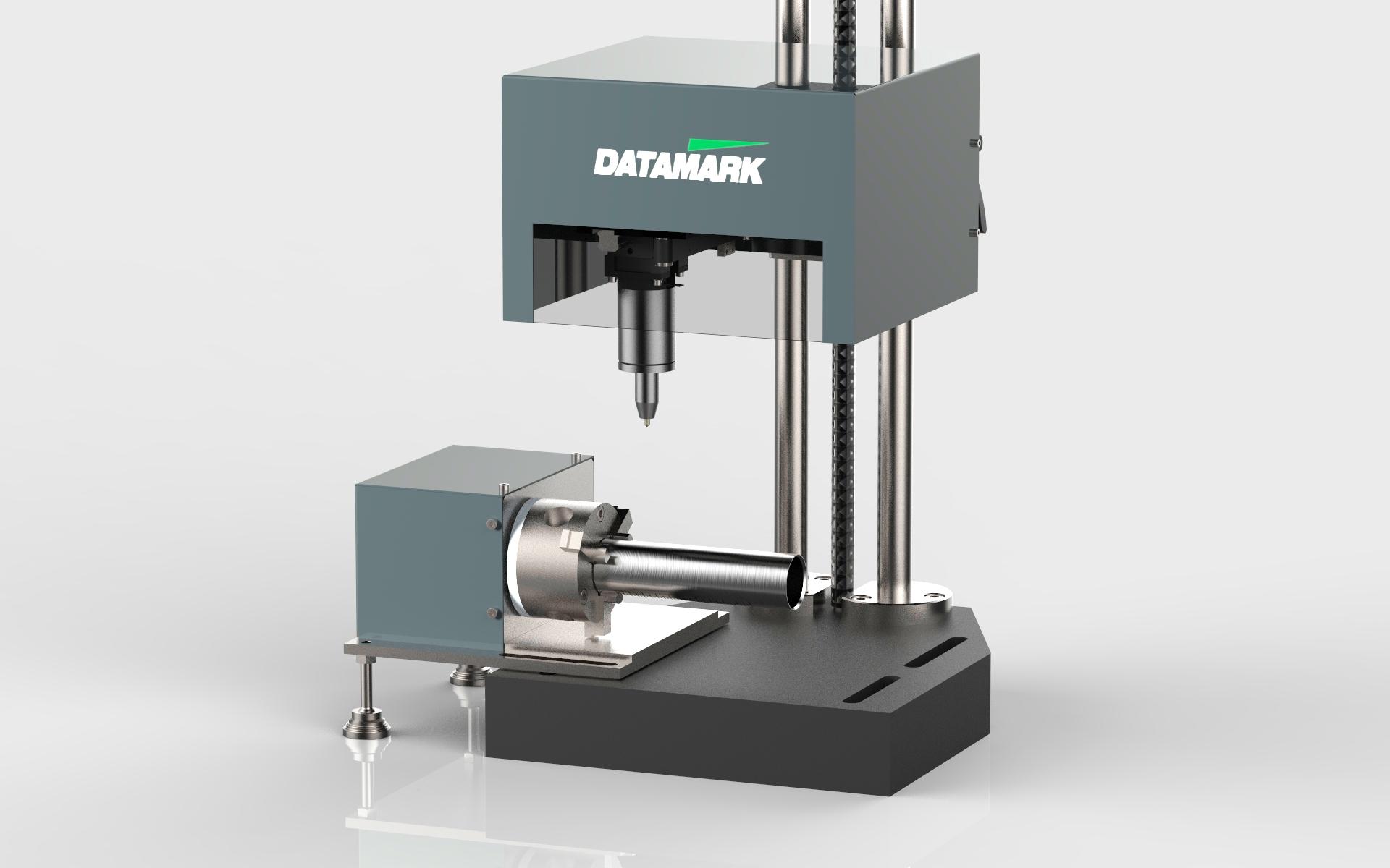 Máquinas para marcaje y grabado de piezas cilíndricas