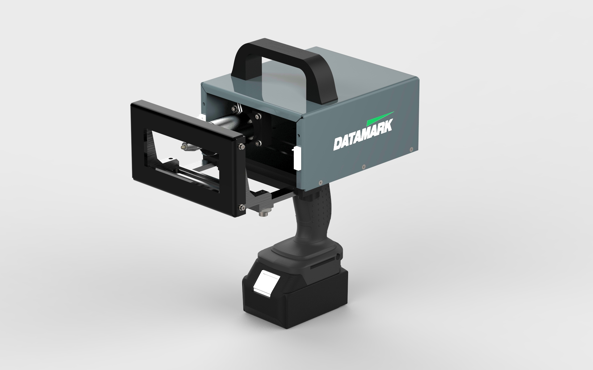 Maquina de marcaje industrial por micropercusion para marcar metales