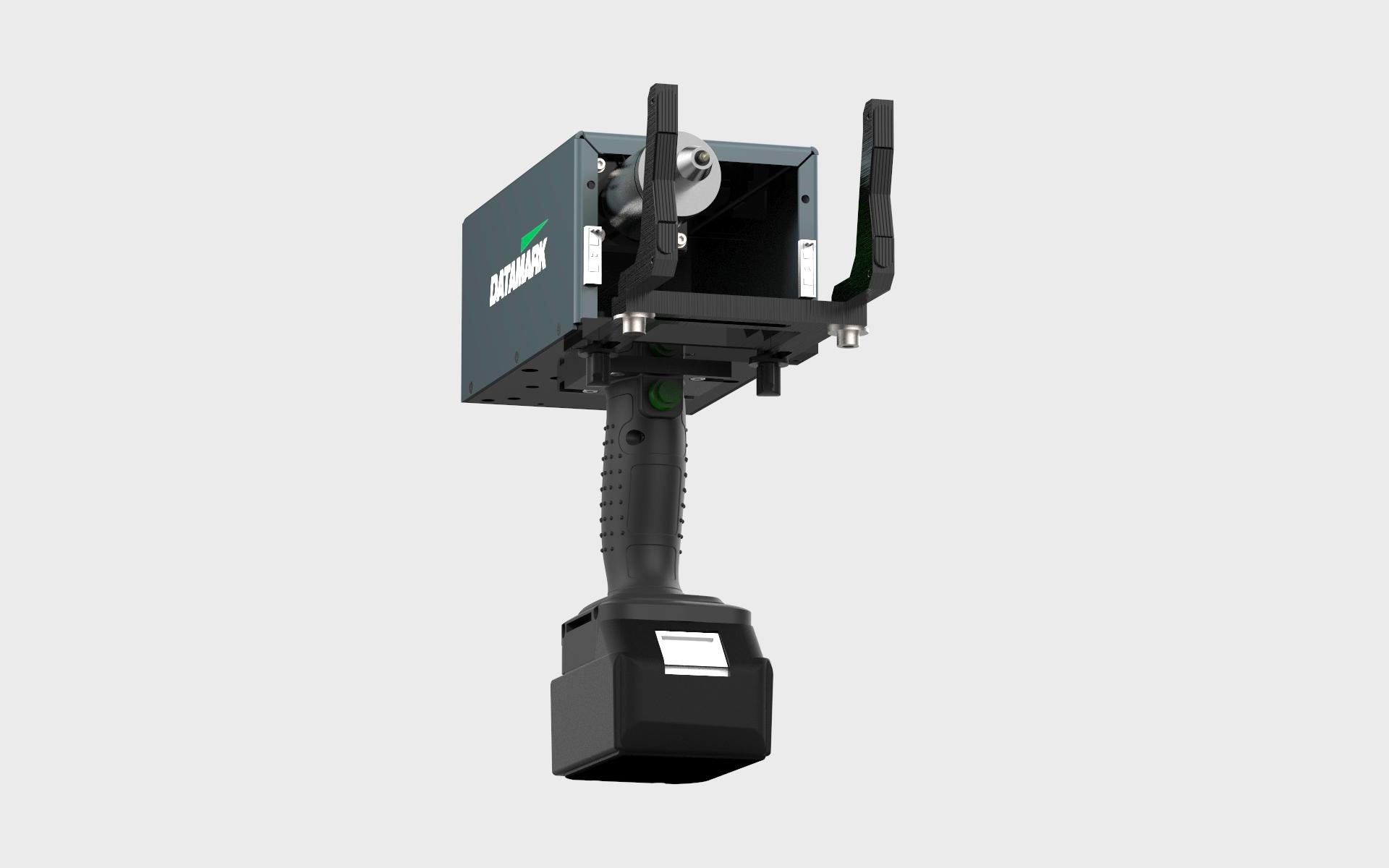 Máquina de marcado portátil por punto y micropercusión Datamark Mobile