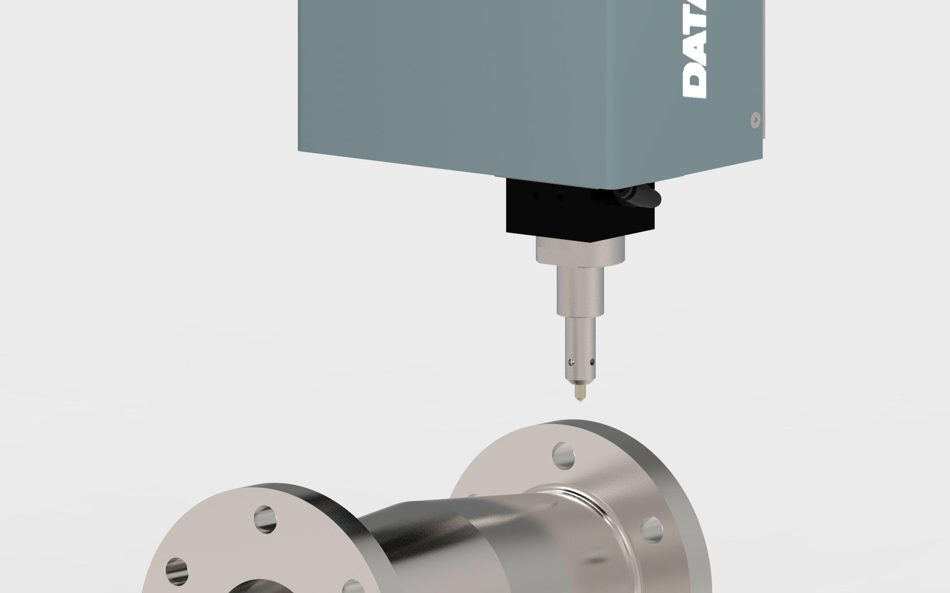 Marcaje de piezas de acero por micropuntos