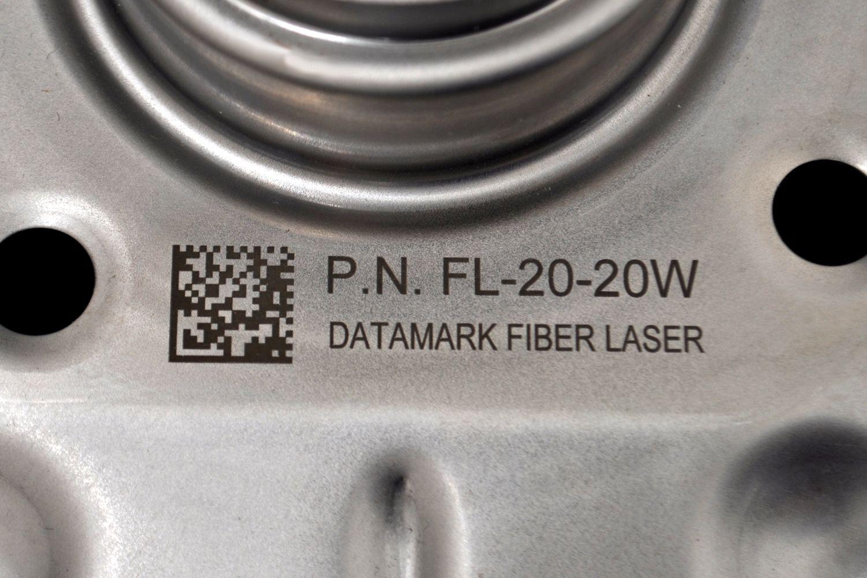 Marcado de piezas metálicas por laser