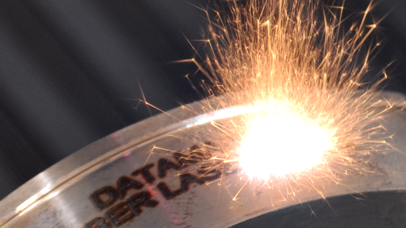 laser de marcado y grabado industrial