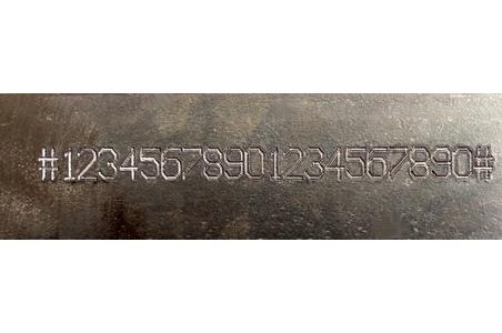 Marcado de números de identificación VIN en chasis y bastidores