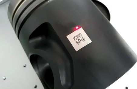 Grabado láser datamatrix