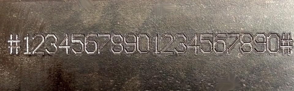Marcaje de numeraciones en chasis y bastidores