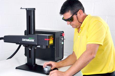 Máquina de grabado y marcaje po rláser de marcaje industrial