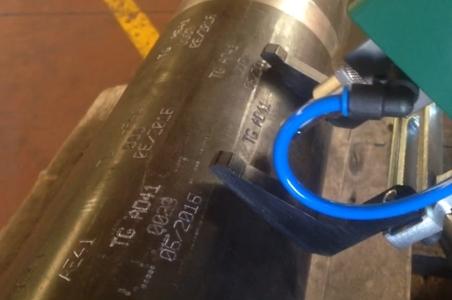 Marcadora de tubos Datamark