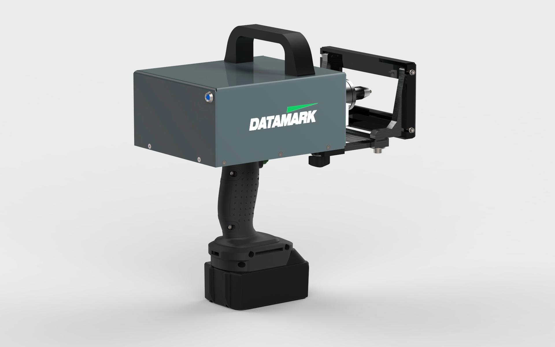 Máquina para marcar piezas de metal