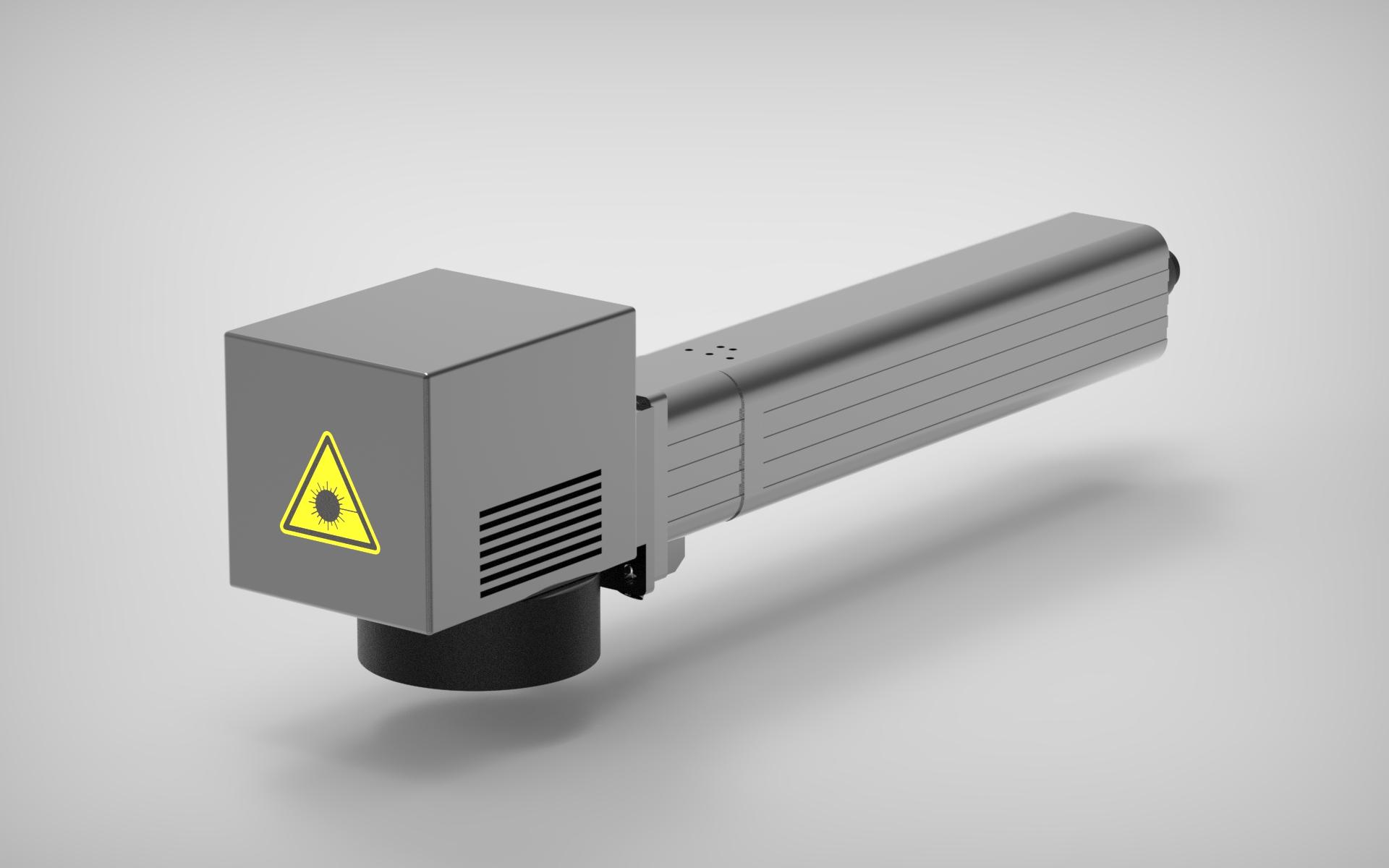 Máquina de marcado y grabado laser de marcaje industrial