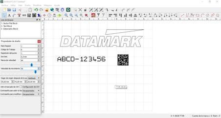 Software de marcaje Datasoft