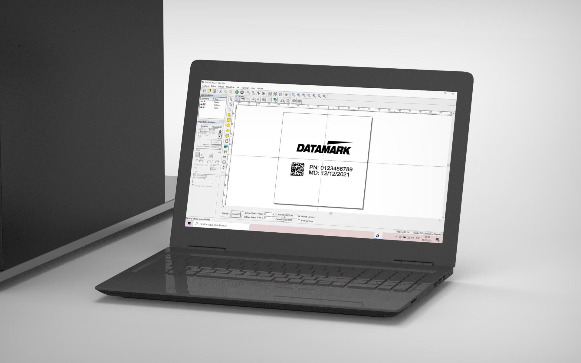 Software de marcaje y grabado láser