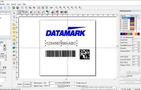 Software de marcado laser Datasoft