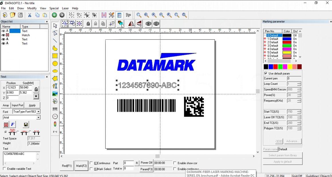 Software de marcaje laser