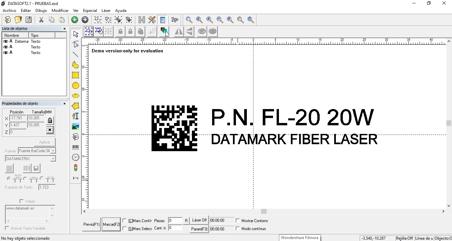Software para marcado y grabado láser