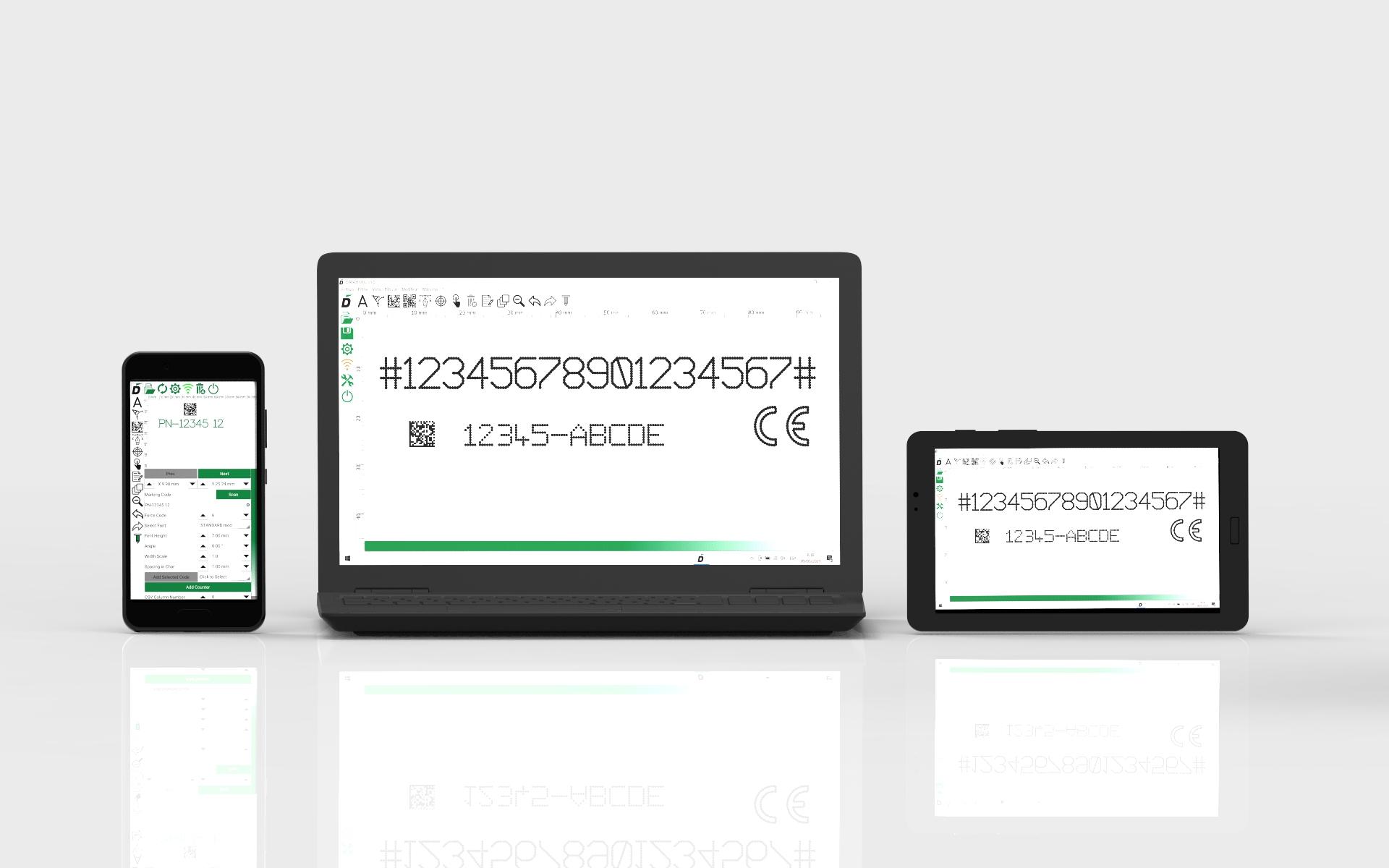 Software de marcaje Datamobil